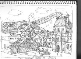 Cuttlefish Cuddling the Louvre