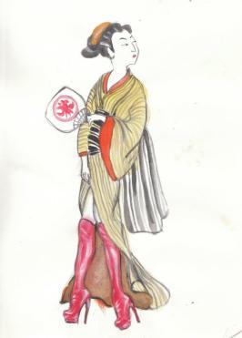 Stripper Geisha