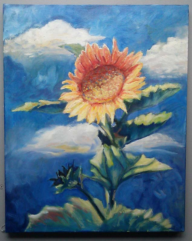 floral, flower, sunflower, botanical