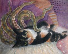 """Tentacat"" (Rosie the kitty)"