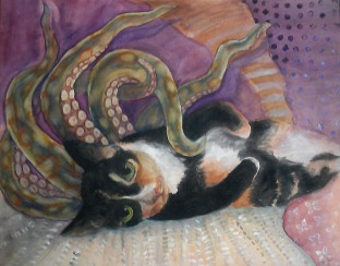 """Tentacat"" (Rosie the kitty)"