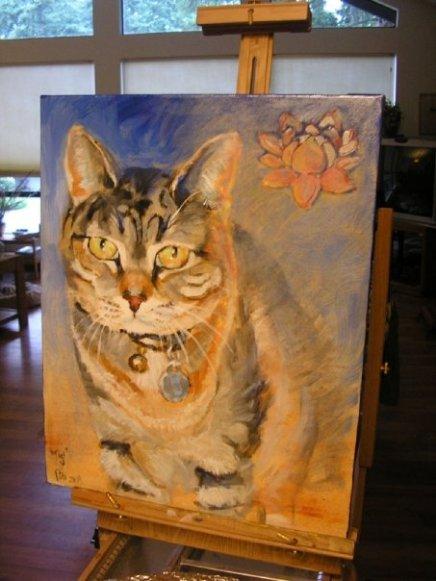 """""""Tigi"""", a memorial portrait"""