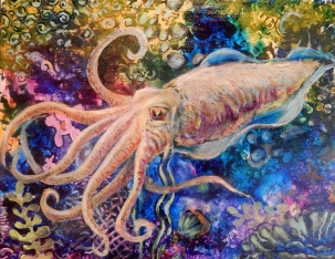 SOLD - Cuttlefish dream