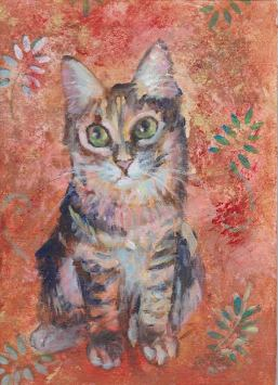 Mr. B As a Kitten - SOLD