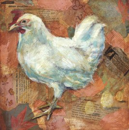 White Chicken - SOLD