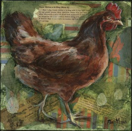 Red Chicken - SOLD