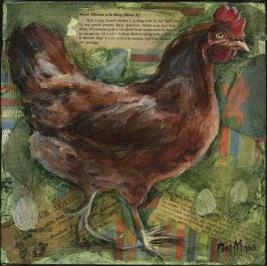 Red Chicken - SOLD