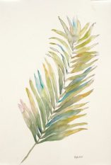 """Frond II"", 12x18"" watercolor on paper, $45, non-expedited domestic shipping included"